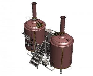 Brewhouse Breworx Classic - медный дизайн