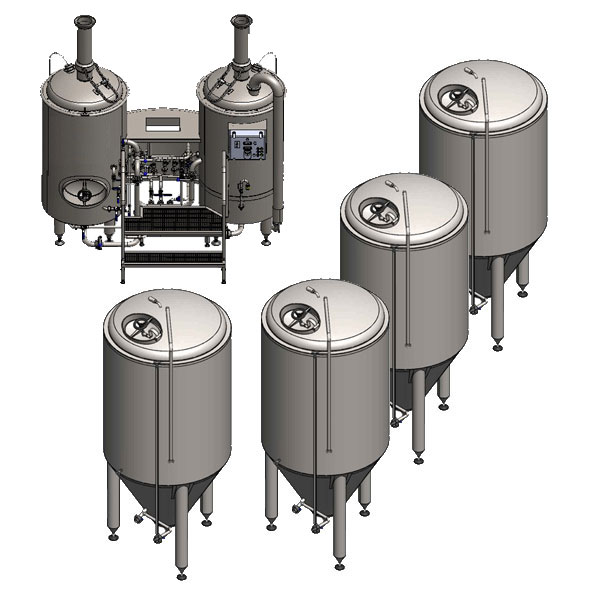 microbreweries breworx liteme 001 - Breweries - microbreweries - fully equipped systems for the beer production