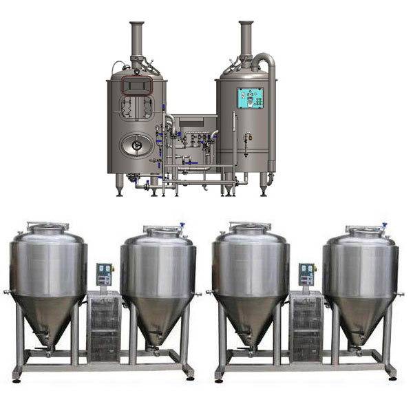 microbreweries breworx modulo 250 - Breweries - microbreweries - fully equipped systems for the beer production