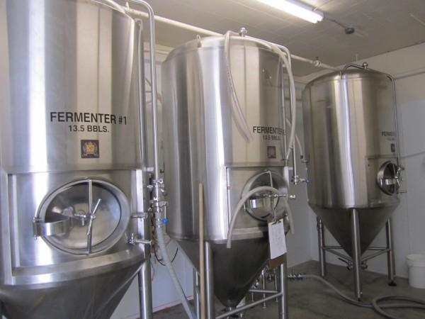 Цилиндро-конические ферментационные резервуары