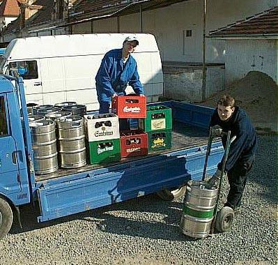 Распределение пива