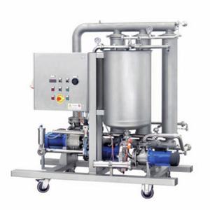CrossFlow filter for filtration of beer