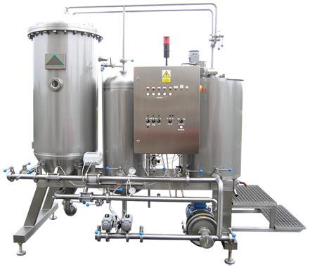Свечной диатомовый земной фильтр для пивоваренных заводов BREWORX