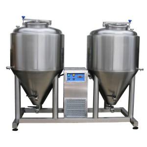 Ферментация - модуль созревания 2x CCT 500 литры