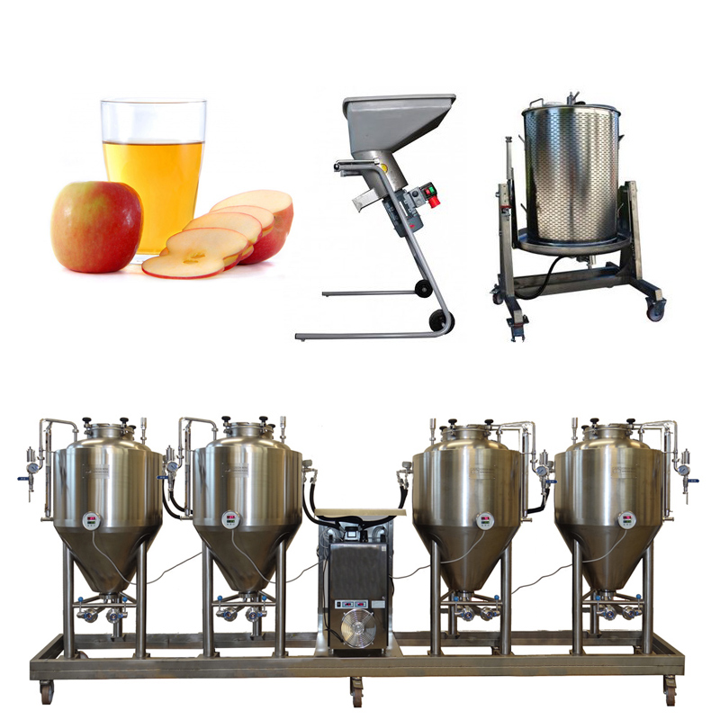Cider Line Modulo FUIC4x250CCT - CiderLines – the cider production lines