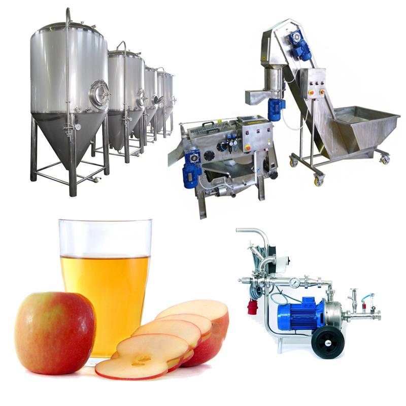 Cider Line Profi Sets - CiderLines – the cider production lines