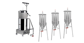 Equipment for home brewing beer
