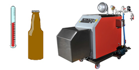 Pasteurization - Equipment for temperature stabilization of beverages