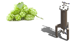 dry hopping 280x143 - Components and equipment for production of beer and cider