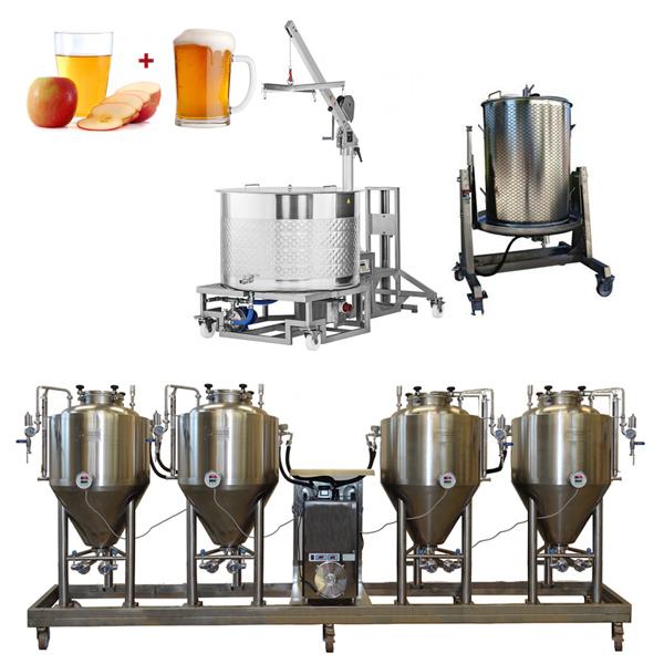 BeerCiderLine Modulo 250 - CiderLines – the cider production lines