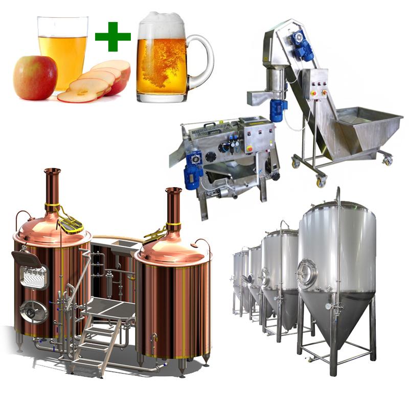 BeerCiderLine Profi 500 - CiderLines – the cider production lines