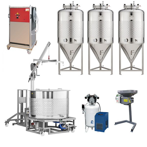 brewmaster microbreweries 001 - Breweries - microbreweries - fully equipped systems for the beer production