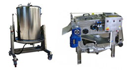 fruit presses 280x143 - Components and equipment for production of beer and cider