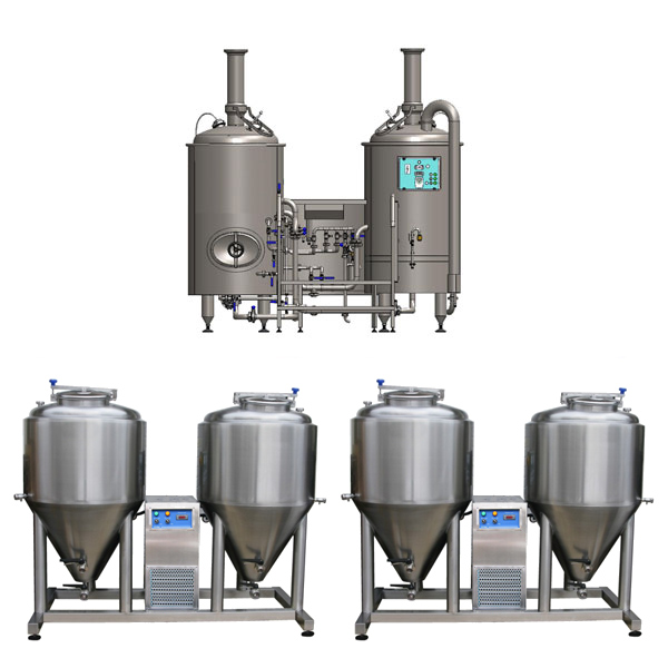 microbreweries breworx modulo liteme 250 - Breweries - microbreweries - fully equipped systems for the beer production