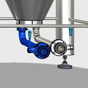 CCTM A3 011 300x300 - RO1-DO1 Резервуар для слива в бак