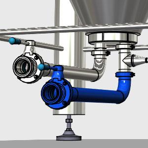 CCTM RO1 B1 300x300 - RO1-DO1 Резервуар для слива в бак