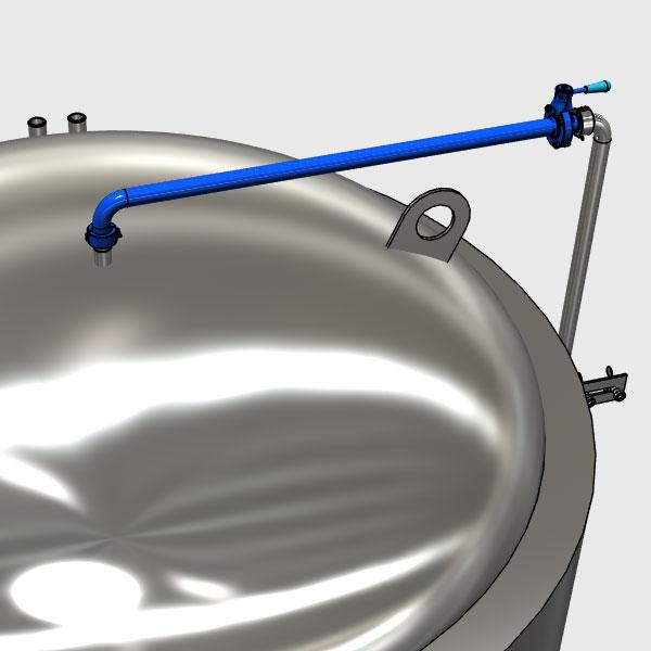 MTS CS1 A1F 002 500x500 - CS1 - Верхняя дезинфицирующая труба