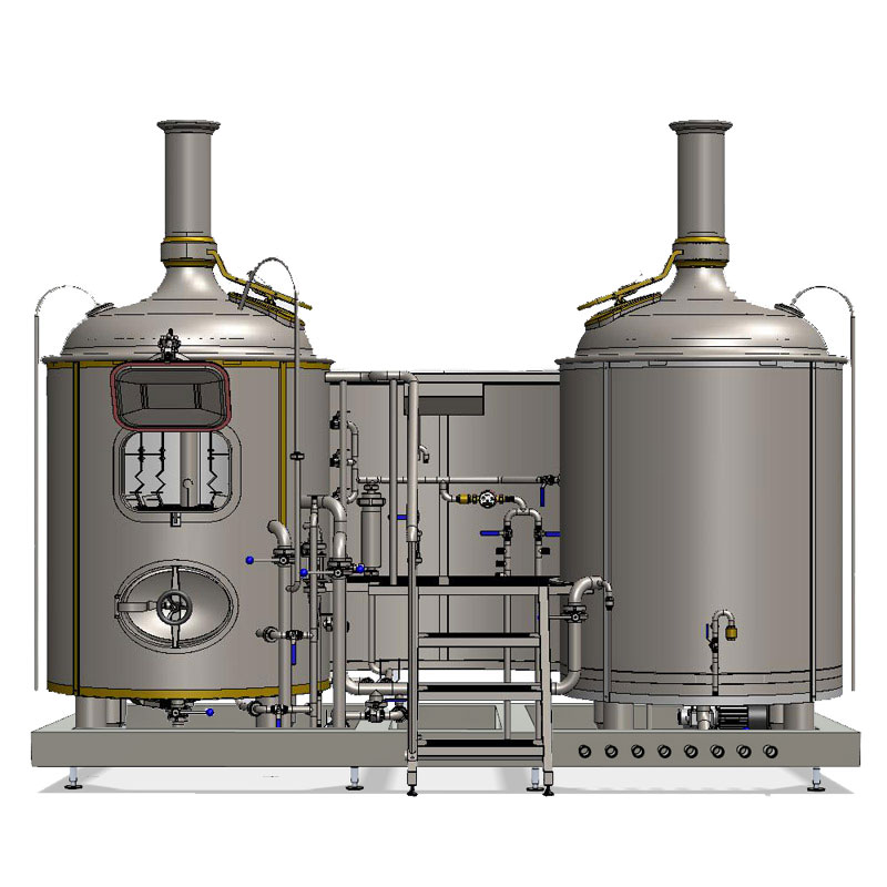 brewhouse breworx modulo classic 500SD 002 - BREWORX MODULO - the modular craft breweries for restaurants