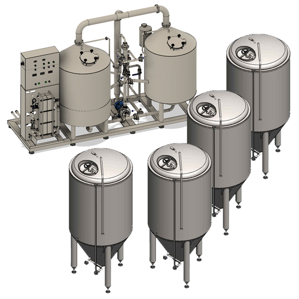 microbreweries breworx liteeco 001 - Breweries - microbreweries - fully equipped systems for the beer production