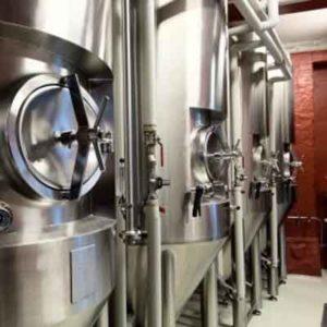 Εξοπλισμός ζύμωσης μπύρας - ζυμωτήρες, δεξαμενές παραγωγής μπύρας, μονάδες ζύμωσης κλπ.