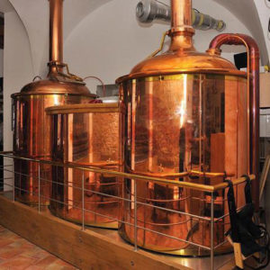 BREWORX CLASSIC wort brew machines - the brewhouse intended for restaurant interiors