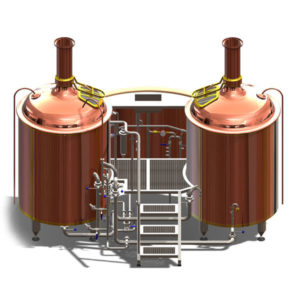BREWORX LITE-ME wort brew machine - the interior brewhouse for production of malt of malt extract