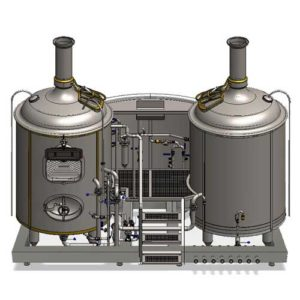 MODULO wort brew machines for the Breworx Modulo breweries