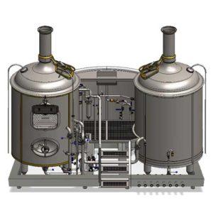 MODULO stroje na výrobu mladiny pro pivovary Breworx Modulo