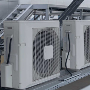 Cooling system for cider production lines