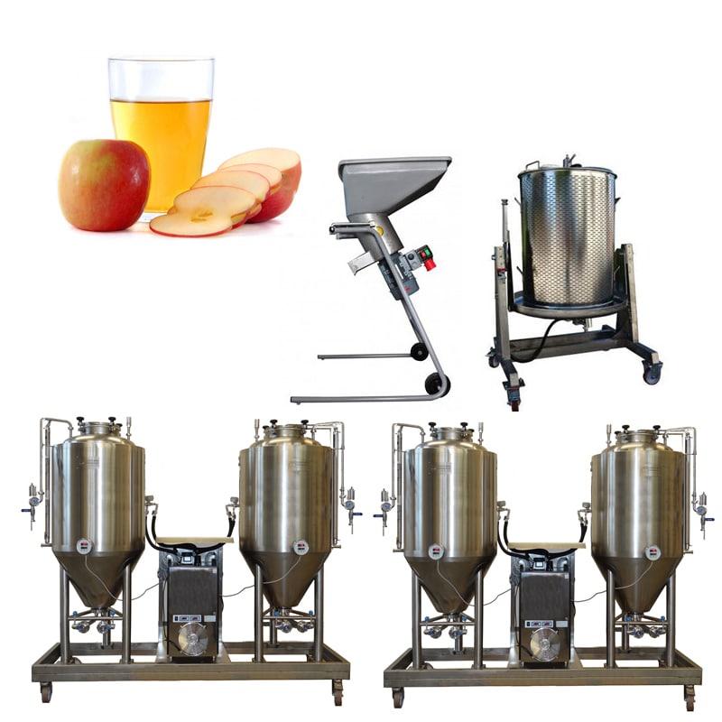CiderLine Modulo - модульные линии по производству сидра