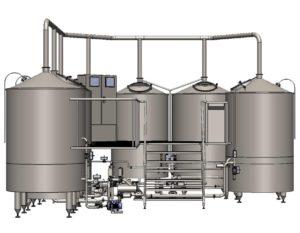 Stroj na výrobu mladiny Breworx Oppidum 1000
