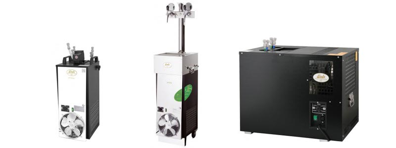 podstolova vycepni zarizeni - DBWC | Compact draft beer dispensing coolers and beer cooling machines