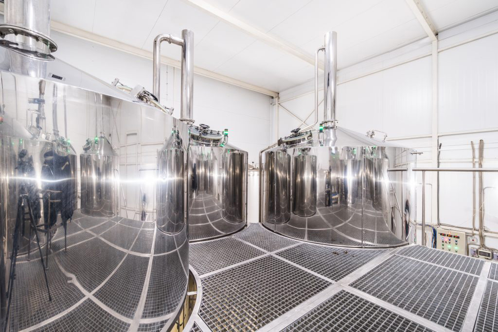 Breworx Oppidum industrial brewery - brewer´s workplace