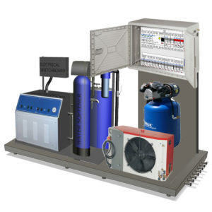 Energy unit for the Modulo brewery system