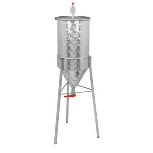 Простой конический ферментер для пивоваров