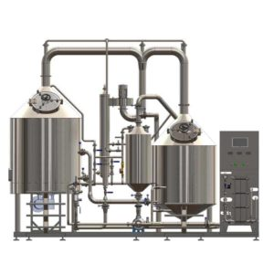 Breworx Classic-ECO wort brew machines - the compact industrial brewhouses