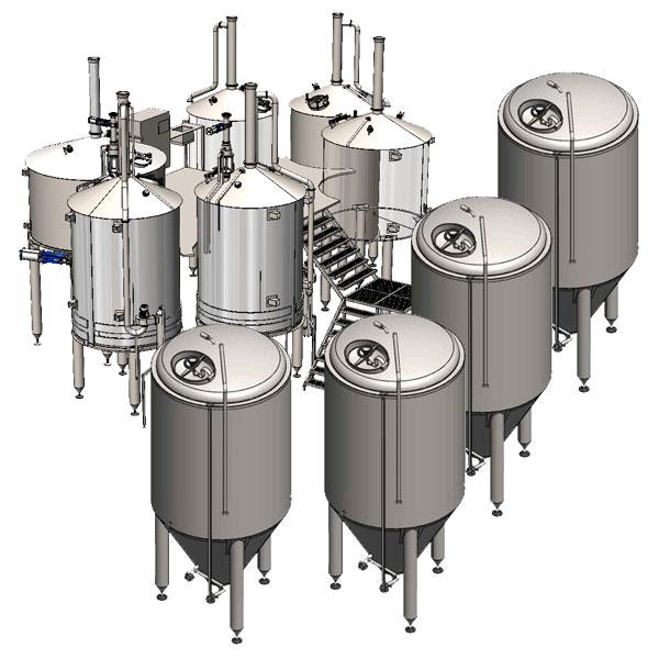 Breworx Oppidum 4000 brewhouse wort machine