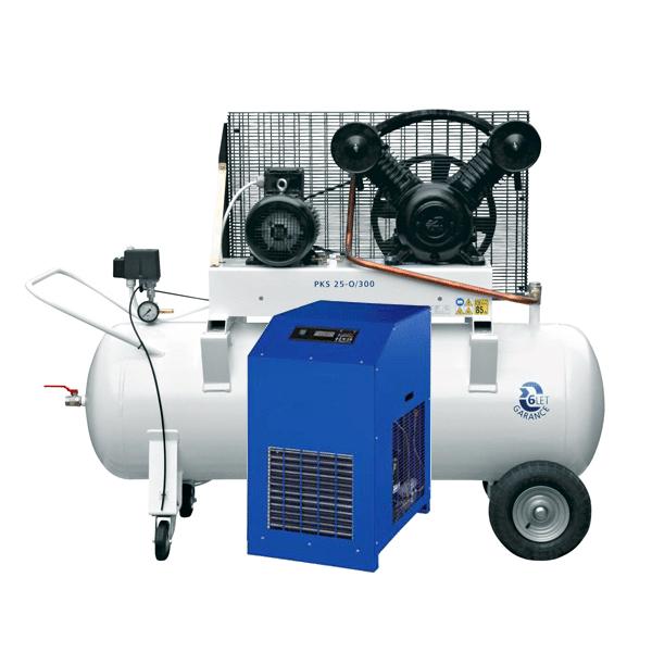Vzduchové kompresory a sušičky