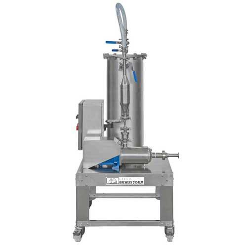 Flow-through cider carboniser