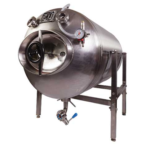 Beer serving tanks