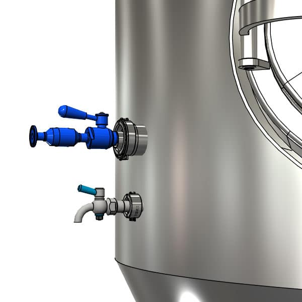 CC1 DN1225TC 005 600x600 - CCT-M | Modular cylindrically-conical tanks (modular beer fermentors)