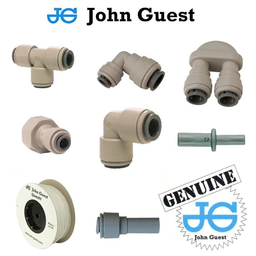 John Guest plumbing system for tanks