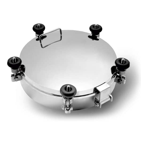 Manholes and lids for tanks
