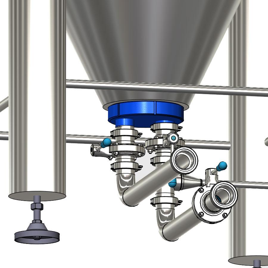 Kompozity pro modulární cylindrické kónické cisterny CCT