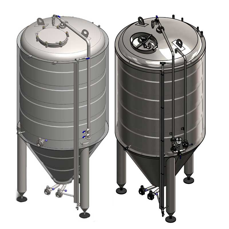 Cylindrically-conical cider fermentation tanks - CLASSIC
