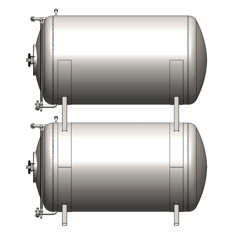 BBTHN - Cylindrical cider conditioning and storage tanks : horizontal, non-insulated, cooled with air