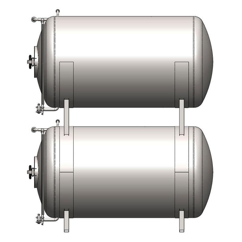 BBTHN - Цилиндрические емкости для кондиционирования и хранения пива: горизонтальные, неизолированные, охлаждаемые воздухом