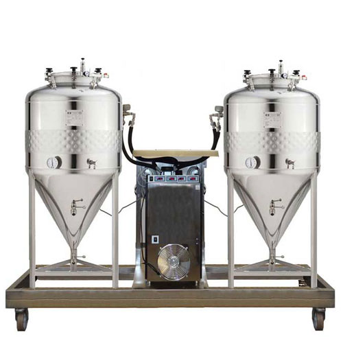 Kompaktní jednotky na fermentaci piva FUIC-SLP