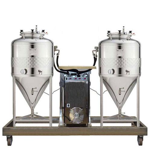 FUIC-SLP compact beer fermentation units
