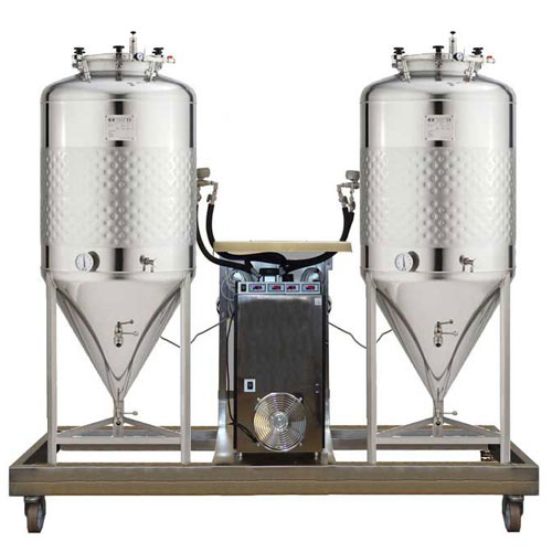 FUIC-SHP compact beer fermentation units